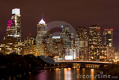 Philadelphia Skyline (Night)
