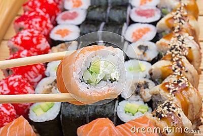 Philadelphia sushi roll