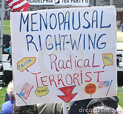 Philadelphia Tea Party Editorial Stock Image