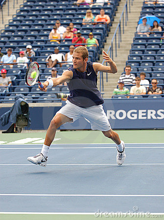 Philip Bester Rogers Cup 2008 at the net Editorial Image