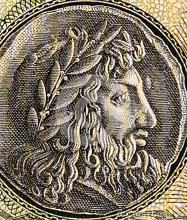 Philip II of Macedon Editorial Photo