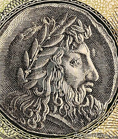 Philip II of Macedon Editorial Photo