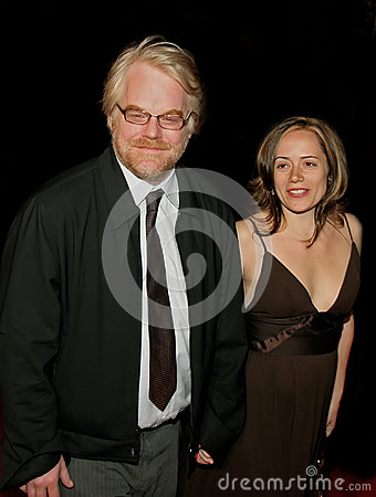 Philip Seymour Hoffman and Mimi O Donnell Editorial Photo