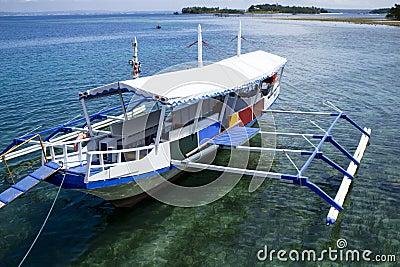 Philippine Bangka Boat Royalty Free Stock Images Image