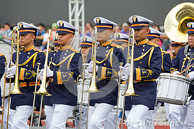 Philippine Millitary academy cadets Editorial Image