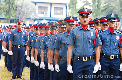 Philippine National Police Editorial Stock Image