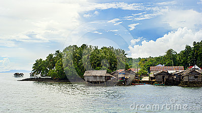 Philippines fishermans  village