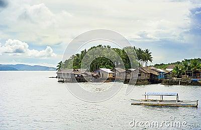 Philippines fishermans  village