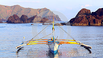 Philippines fishing boat