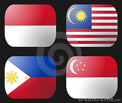 Philippines Indonesia Flag