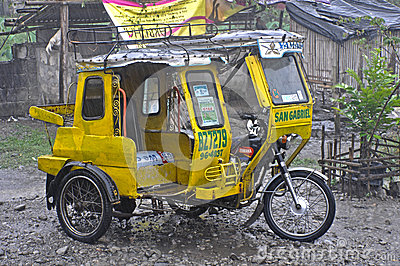 philippines tricycle Editorial Image