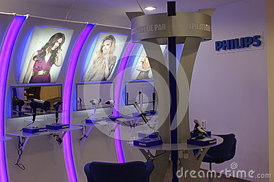 Philips teknologi Redaktionell Foto