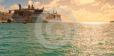 Philipsburg, St. Maarten Editorial Stock Photo