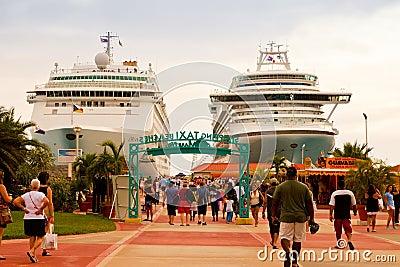 Philipsburg, St. Maarten Editorial Stock Photo