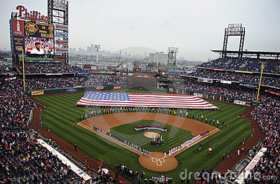 Phillies Opening Day Editorial Image