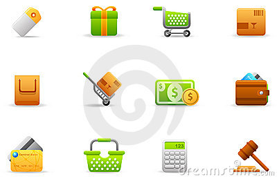 Philos icons - set 4 | Store and eCommerce