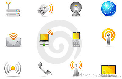Philos icons - set 8 | Wireless communication