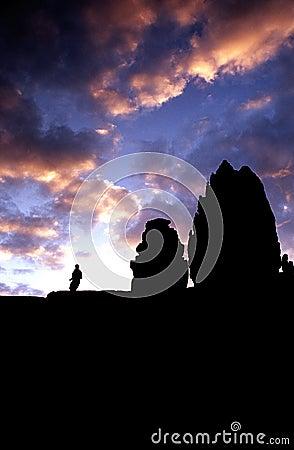 Phnom Bakheng temp- Angkor Wat, Cam