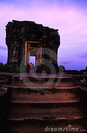 Phnom Bakheng temple- Angkor Wat, Cam