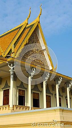 Phnom penh дворца королевское