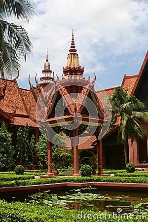 Phnom penh музея национальное