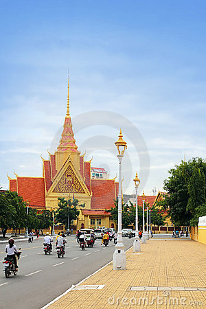Phnom Penh, Cambodia Editorial Stock Photo