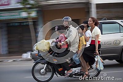 Phnom Penh, Cambodia Editorial Image