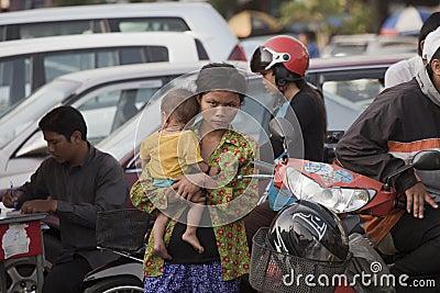 Phnom Penh, Cambodia Editorial Photo