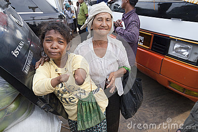 Phnom Penh, Cambodia Editorial Stock Photo