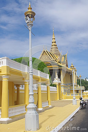Royal Palace in Phnom Penh
