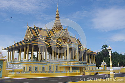 Royal Palace complex in Phnom Penh