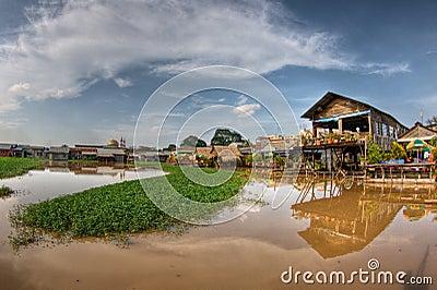 Phnom Penh, Lake side