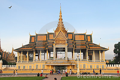 Phnom Penh Royal Palace Editorial Photo