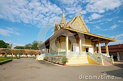 Phnom Penh temple, Cambodia