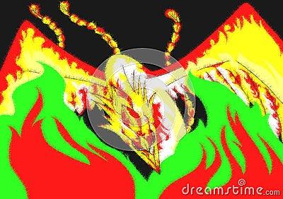 colorful Phoenix background