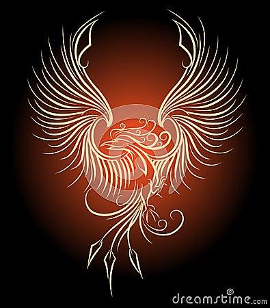Free Phoenix Bird Royalty Free Stock Photography - 54717807