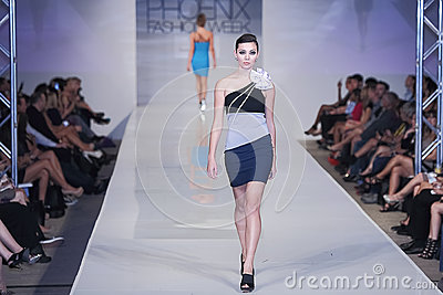 2012 Phoenix Fashion Week runway shows Editorial Stock Image