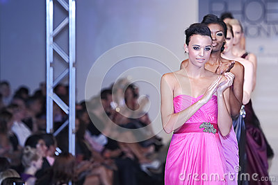 2012 Phoenix Fashion Week runway shows Editorial Photography