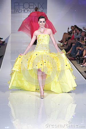 2012 Phoenix Fashion Week runway shows Editorial Stock Photo