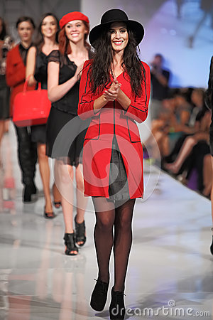 Phoenix Fashion Week Thursday Runway Shows Editorial Stock Image