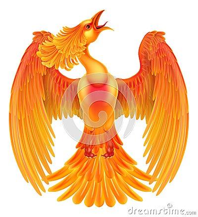 Free Phoenix Fire Bird Stock Photography - 76466672