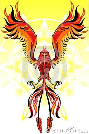 Phoenix Flame Bird