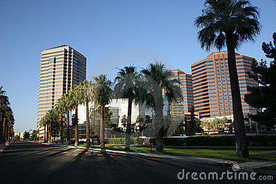 Phoenix Downtown Office And Condo Buildings