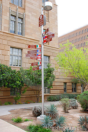 Phoenix Sister cities sign