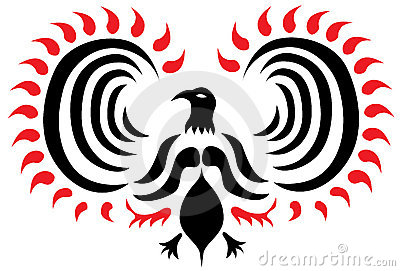 Phoenix Vector Tattoo
