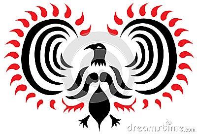 Phoenix Vector Tattoo