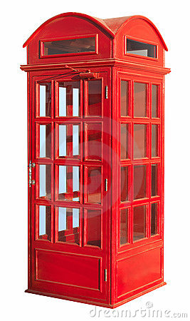 Free Phone Booth  Stock Photos - 19043613