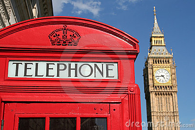 Phone box and Big Ben