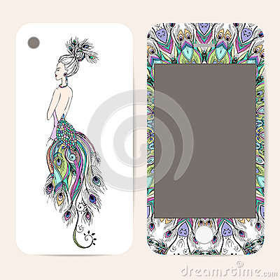 Free Phone Case Collection, Delicate Floral Pattern Royalty Free Stock Photography - 50098387