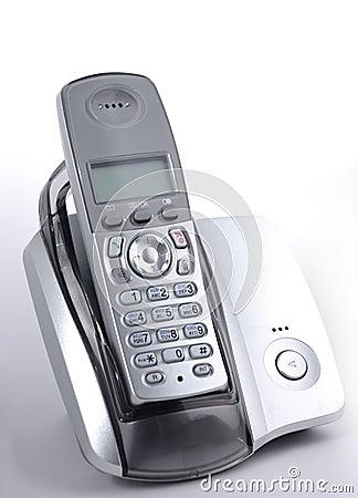 Phone In Cradle